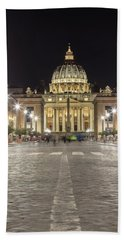 Road To The Vatican  Hand Towel