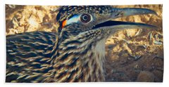 Roadrunner Portrait Hand Towel