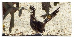 Roadrunners Shade-time Hand Towel