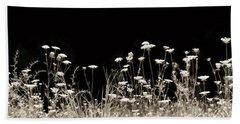 Roadside Wildflowers Bath Towel