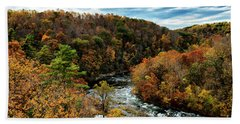 Roanoke River Blue Ridge Parkway Hand Towel