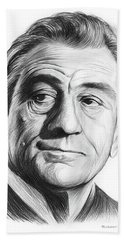 Robert De Niro 17aug18 Bath Towel