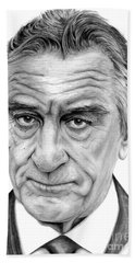 Robert De Niro Bath Towel