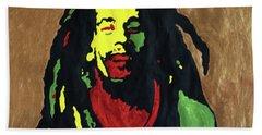 Robert Nesta Marley Hand Towel
