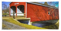 Roberts Covered Bridge Hand Towel