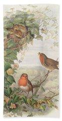 Robin Hand Towel by John Gould