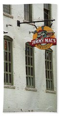 Hand Towel featuring the photograph Rochester, New York - Jimmy Mac's Bar 3 by Frank Romeo