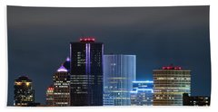 Rochester Ny Twilight Bath Towel