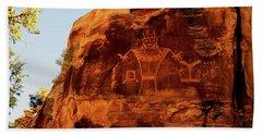 Rock Art From Utah Hand Towel
