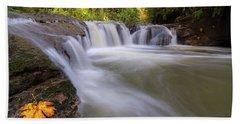 Rock Creek In Happy Valley Oregon Bath Towel