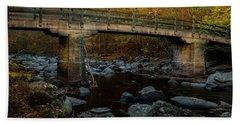 Rock Creek Park Bridge Bath Towel