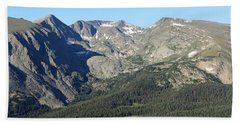 Rock Cut - Rocky Mountain National Park Hand Towel