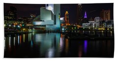Rock Hall Reflections Hand Towel