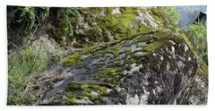 Rock Moss Hand Towel by Sumit Mehndiratta