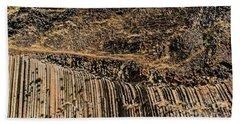 Rock Mountain Rock Art By Kaylyn Franks Hand Towel