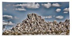 Rock Pile - Painterly Bath Towel
