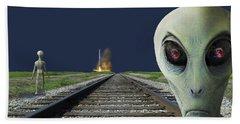 Rocket Launch Bath Towel