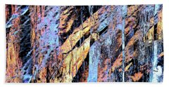 Rockfalls Hand Towel by Stephanie Grant