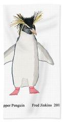 Rockhopper Penguin Bath Towel