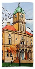 Rockingham County Courthouse Bath Towel