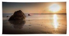 Rocks At Sunset 3 Hand Towel