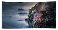 Rocks At Sunset Hand Towel