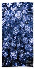 Rocks Of Blue Romance Hand Towel