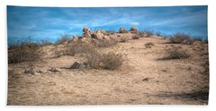 Rocks On The Hill Hand Towel