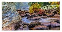 Rockscape Hand Towel by Tom Cameron