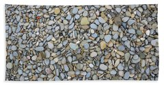 Rocky Beach 1 Hand Towel by Nicola Nobile