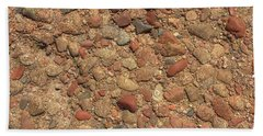 Rocky Beach 4 Hand Towel by Nicola Nobile