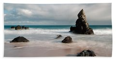 Rocky Beach On Sango Bay Bath Towel