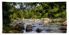 Rocky Broad River Bath Towel