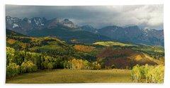 Rocky Mountain Fall Hand Towel