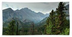 Rocky Mountains National Park 1 Bath Towel