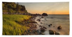 Rocky Point Sunset Hand Towel