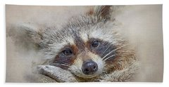 Rocky Raccoon Hand Towel