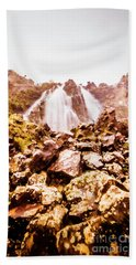 Rocky Water Wilderness Bath Towel