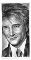 Rod Stewart Bath Towel