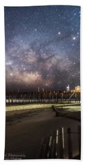 Bath Towel featuring the photograph Rodanthe Nights by Russell Pugh
