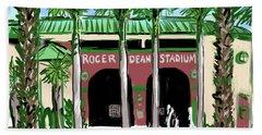 Roger Dean Stadium Bath Towel