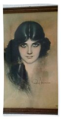 Hand Towel featuring the photograph Rolf Armstrongs Dream Girl 1929 by Jay Milo