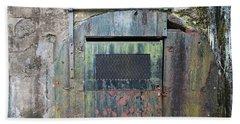Rolling Door To The Bunker Hand Towel