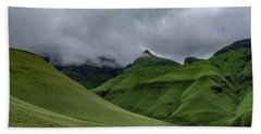 Rolling Green Drakensberg Mountains Bath Towel