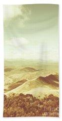 Rolling Rural Hills Of Zeehan Hand Towel