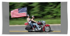Rolling Thunder  Hand Towel