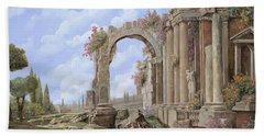 Roman Arch Bath Towels
