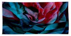 Romance - Abstract Art Hand Towel by Jaison Cianelli