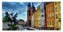 Romance In Krakow Hand Towel