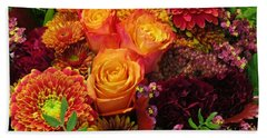 Romance Of Autumn Hand Towel